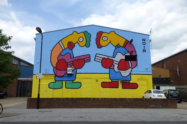 Thierry Noir, Hackney Wick, Londres
