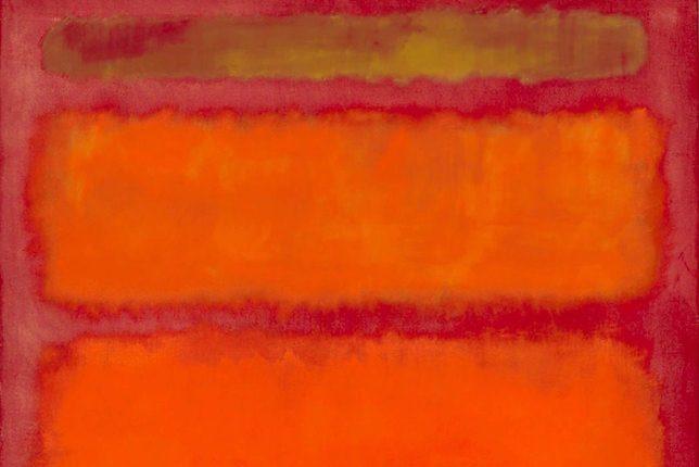 Mark Rothko, Orange, Red, Yellow, 1961