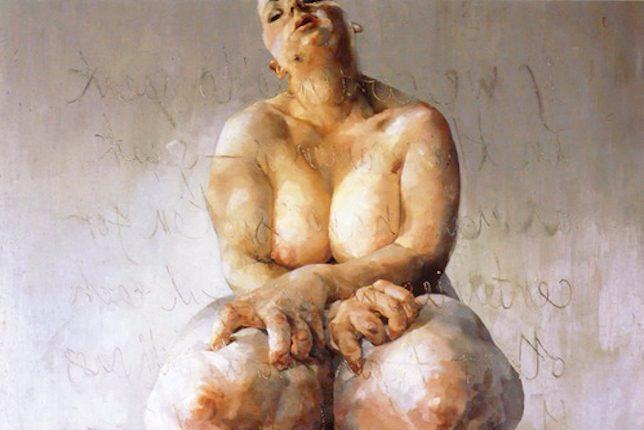 Jenny Saville, Propped, 1992