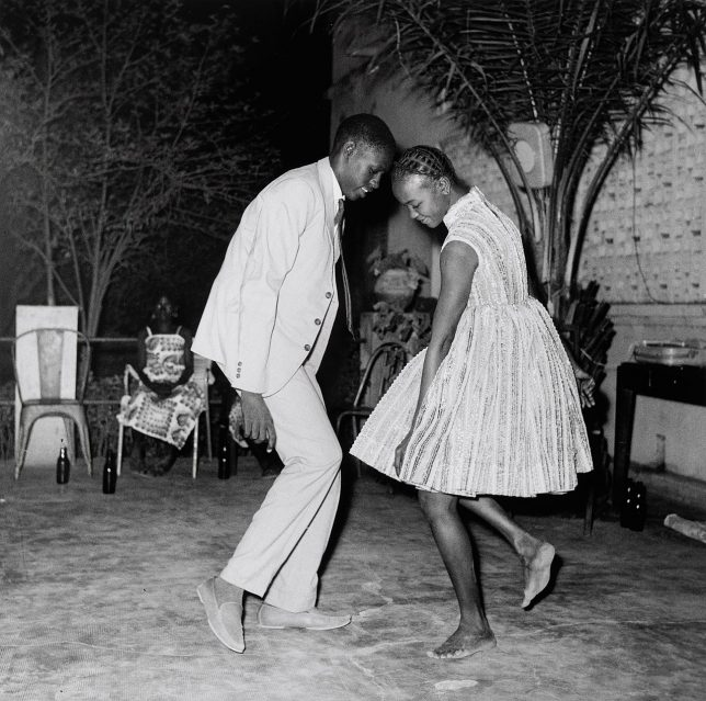 Photograph of Nuit de Noël by Malick Sidibé, Guggenheim, New York