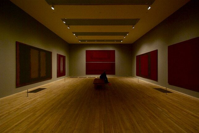 Rothko Room at the Tate Modern, London