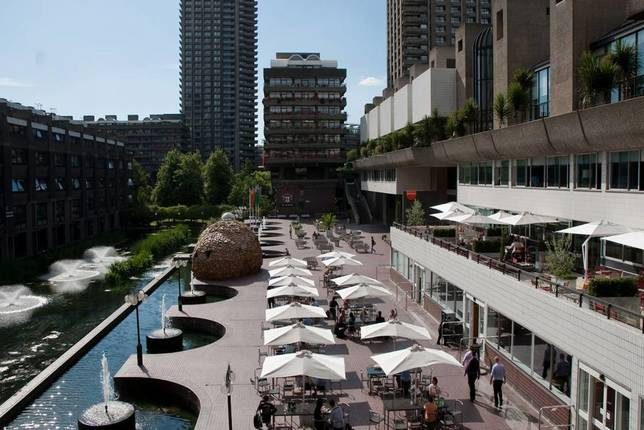 Barbican centre pour l'art contemporain, Londres