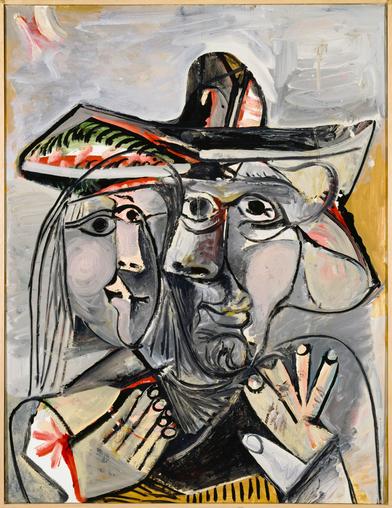 Pablo Picasso - Homme et femme II