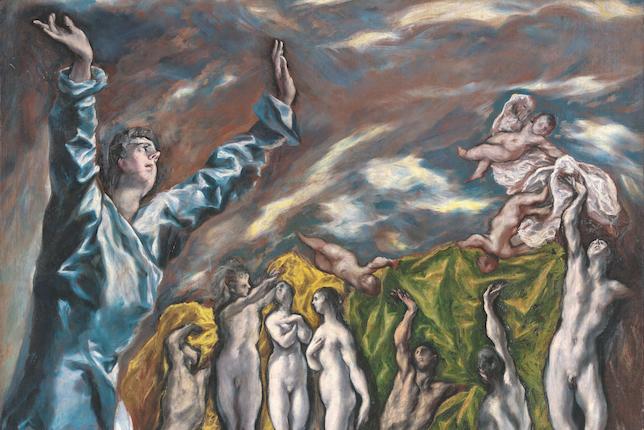 LE GRECO, L'ouverture du cinquième sceau, Etats-Unis, New York, The Metropolitan Museum of Art © The Metropolitan Museum of Art, Dist. RMN-Grand Palais / image of the MMA