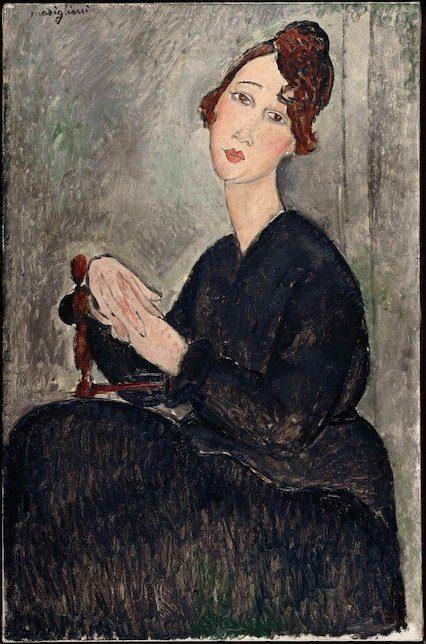 Amedeo Modigliani, Portrait de Dédie, 1918