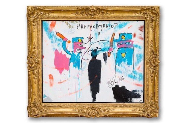 Jean-Michel Basquiat Defacement