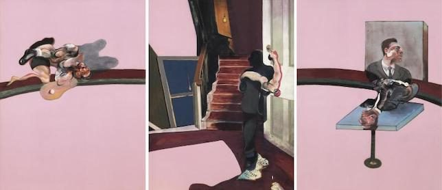 Francis Bacon, In Memory of George Dyer, 1971