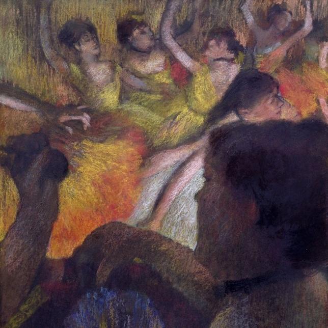 Edgar Degas La Loge