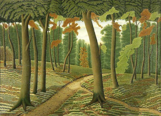 Dominique Peyronnet, La Forêt