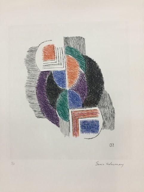 Sonia Delaunay Composición