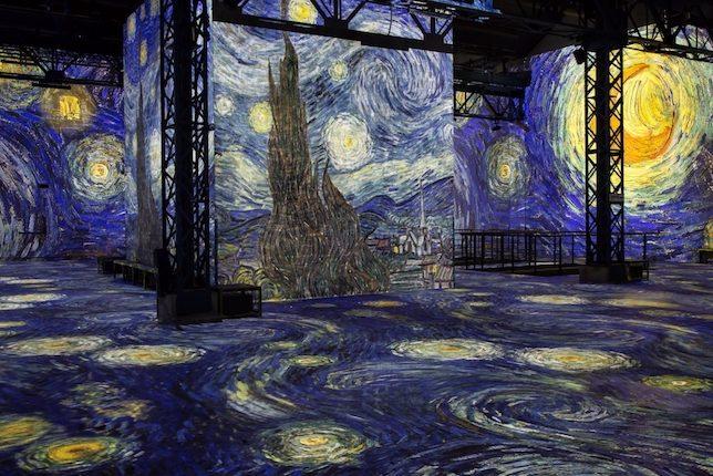 Van Gogh Starry Night Lumière