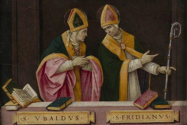Filippino Lippi, St. Ubaldus and St. Fridianus,