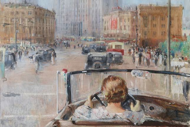 Youri Pimenov, The New Moscow