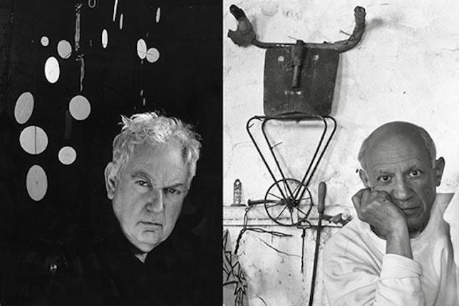 """Affiche de l'exposition """"Calder-Picasso"""" au Musée Picasso, Paris"""