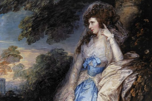 Thomas Gainsborough Lady Bate Dudley