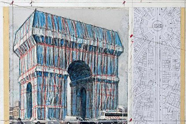 Christo, L'Arc de triomphe