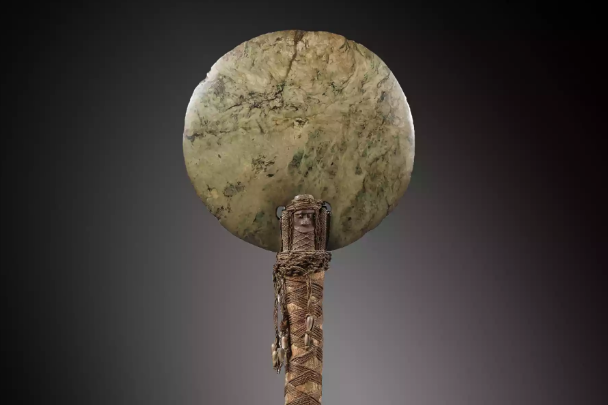 Ceremonial axe from New Caledonia, 19th century
