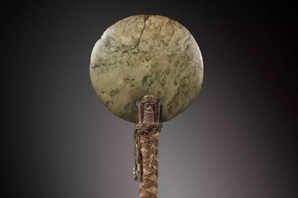 Hache ostensoir de Nouvelle-Calédonie, 19ème siècle