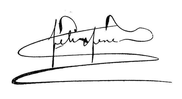 Félix Fénéon's signature