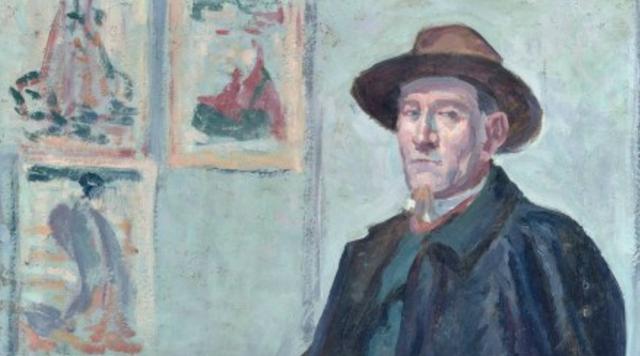 Maximilien Luce, portrait of Félix Fénéon