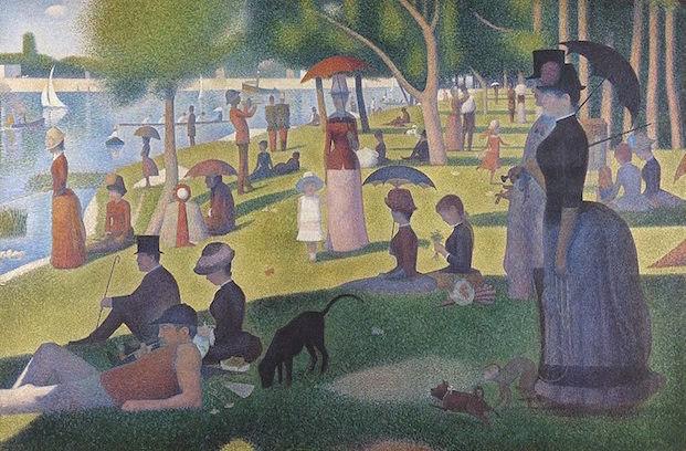 Peinture par Georges Seurat