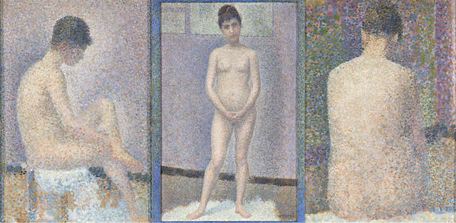 "Georges Seurat, three ""Poseuses"""