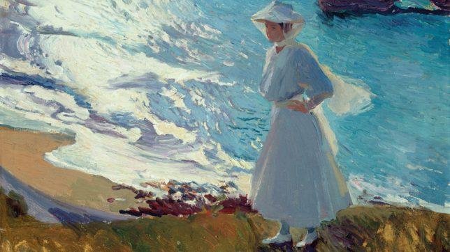 Joaquim Sorolla, Maria à la plage de Biarritz