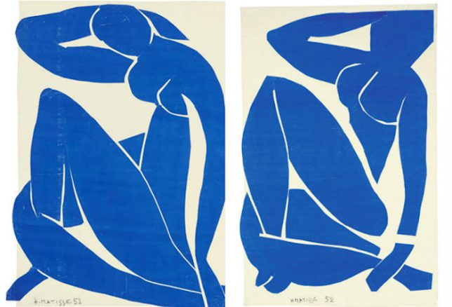 Série de nu bleu - Henri Matisse