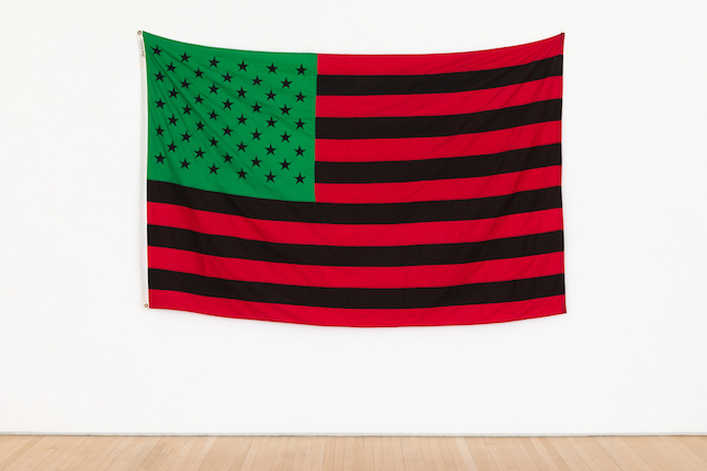 David Hammons, African American Flag