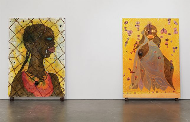 Chris Ofili, No Woman No Cry et The Holy Virgin Mary