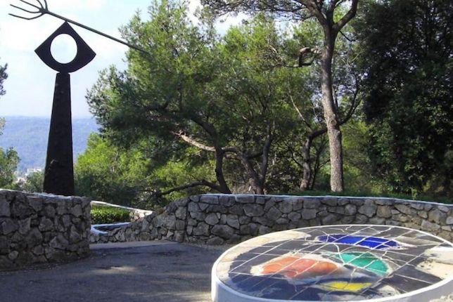 Labyrinthe Mirò, Fondation Maeght à Saint-Paul