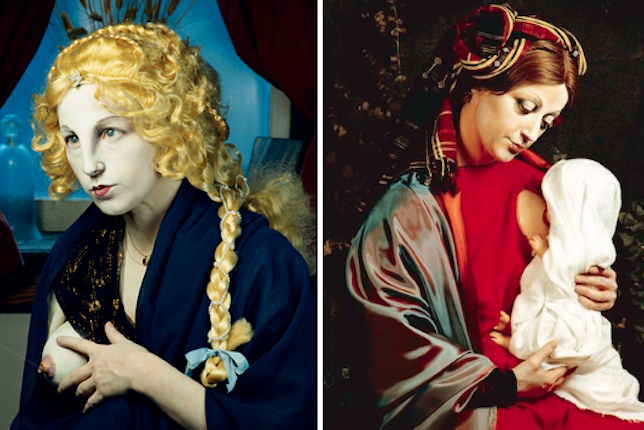 Cindy Sherman, série History Portraits/Old Masters, 1988-1990