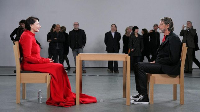 Marina Abramovic: The Artist is Present by Matthew Akers