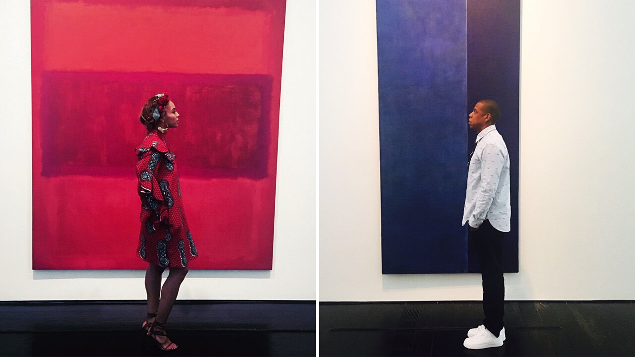 The Stars who Collect Art