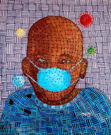 ibrahim Ballo artwork Artsper