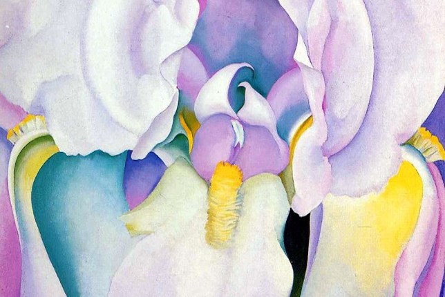 Georgia-O-Keeffe-Light-of-Iris