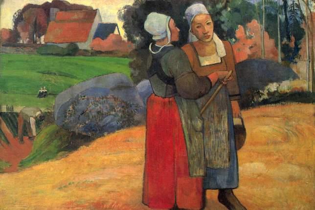 Paul Gauguin, Paysannes bretonnes, 1894