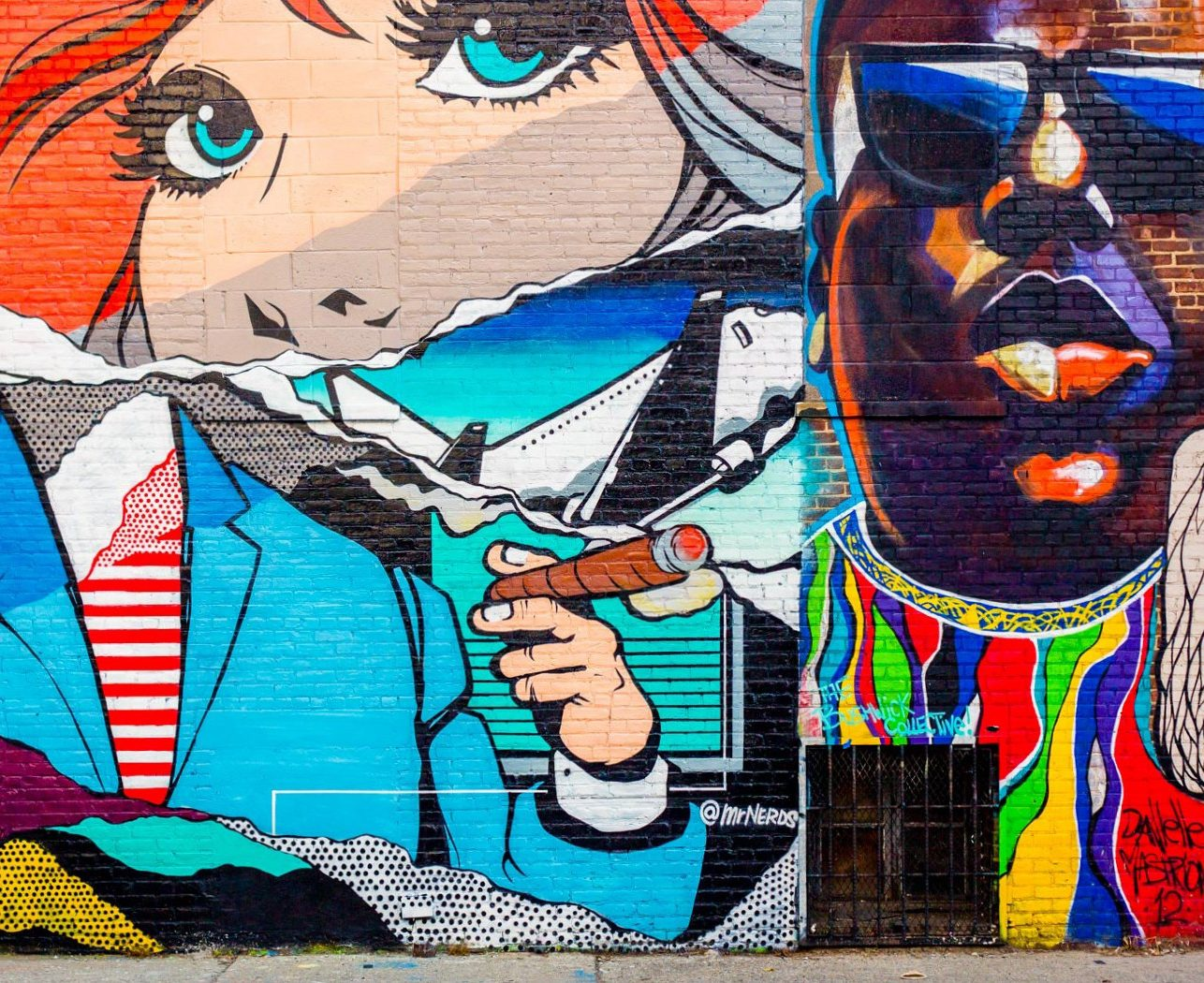 Where to find art in the streets of New York?