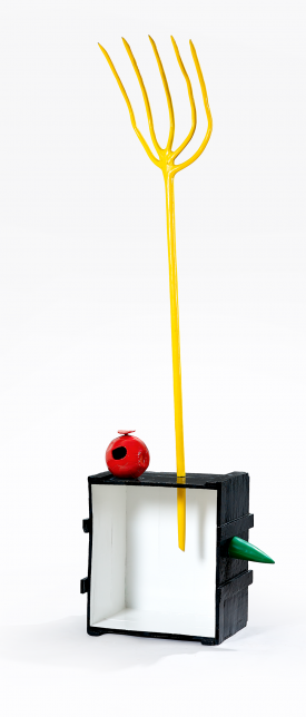 Miró, Femme et oiseau, 1967