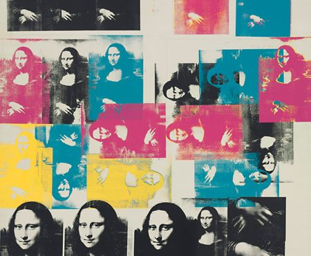Andy Warhol, Colored Mona Lisa, 1963