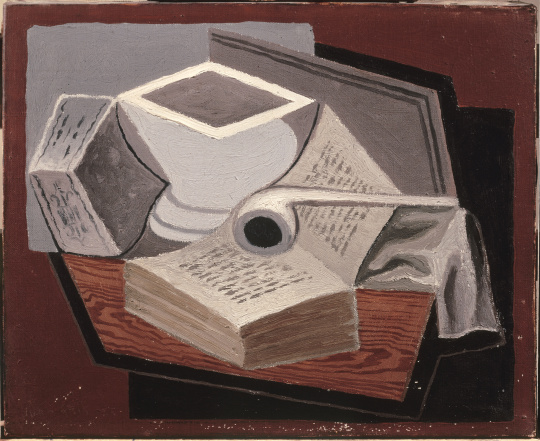 The painting The open Book by Juan Gris (1925)