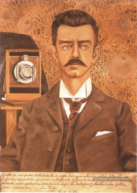 Frida Kahlo, Portrait of my father Guillermo Kahlo, 1952