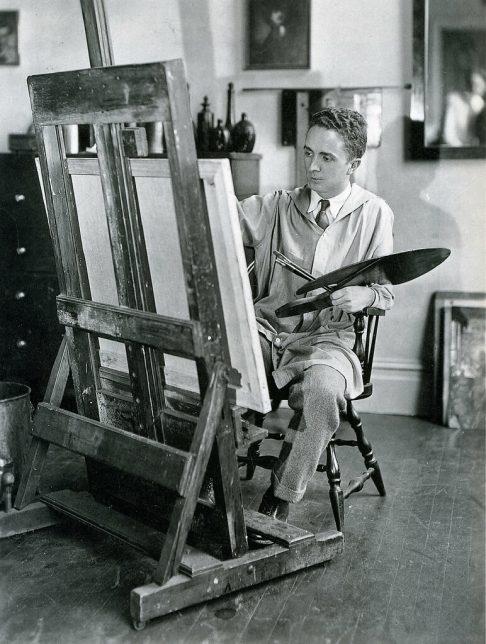 Photographie de Norman Rockwell à 25 ans, 1919