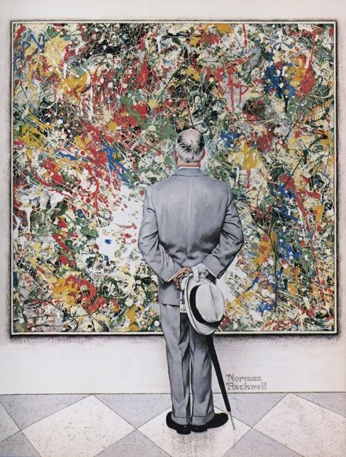 Norman Rockwell, The Connoisseur, 1962