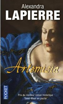 Biography's cover Artemisia by Alexandra Lapierre