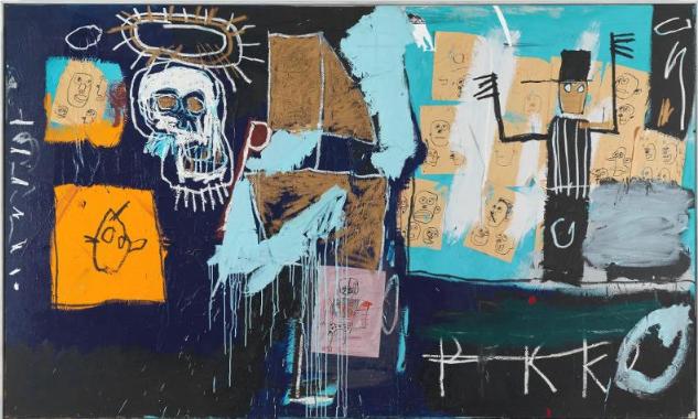 Jean-Michel Basquiat, Slave Auction, 1982