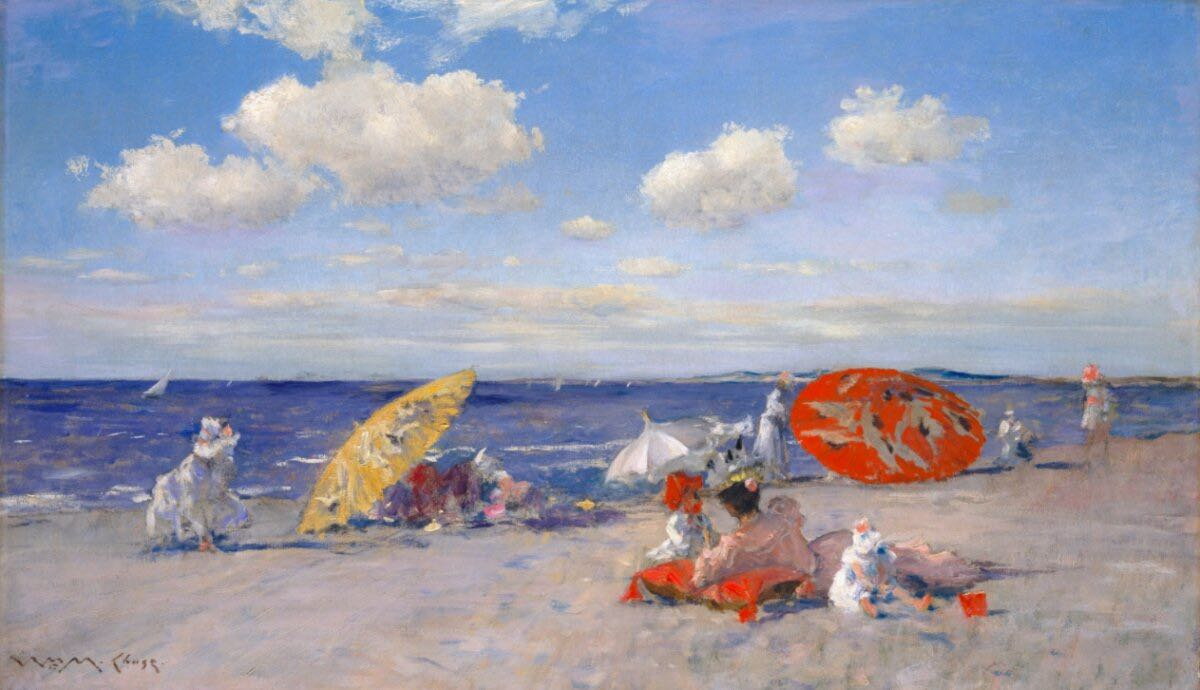 The Beach and the Seaside: A Source of Artistic Inspiration