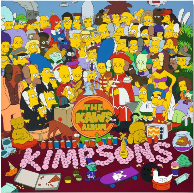 Kaws, the Kaws album, 2005