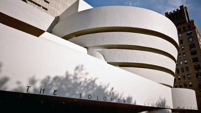 Le musée Solomon R. Guggenheim, New York, Etats-Unis