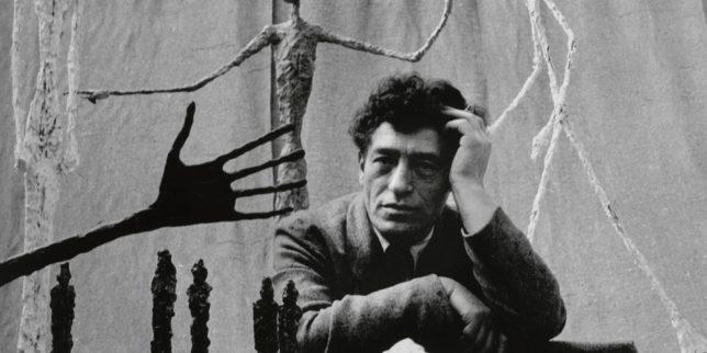 Photograph of d'Alberto Giacometti by Gordon Parks, 1951